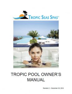 Tropic Pool Owner's Manual